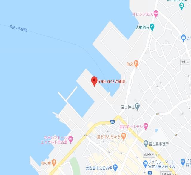 宮古島の港