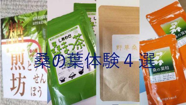 桑の葉サプリ 4選