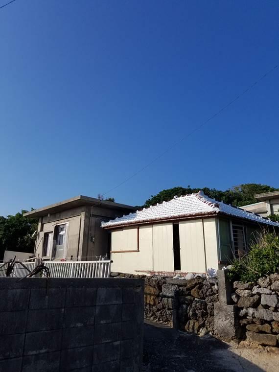 大神島での修行場所