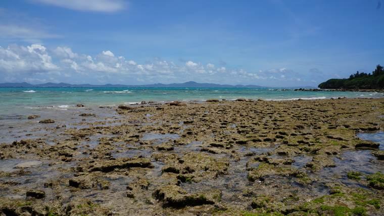 大潮の瀬底島②
