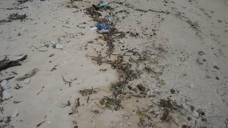 瀬底島のゴミ