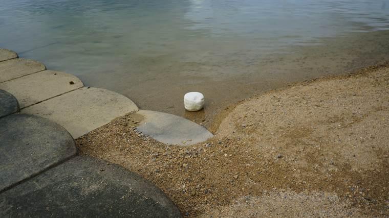 奥武島ゴミ拾い7月4日5
